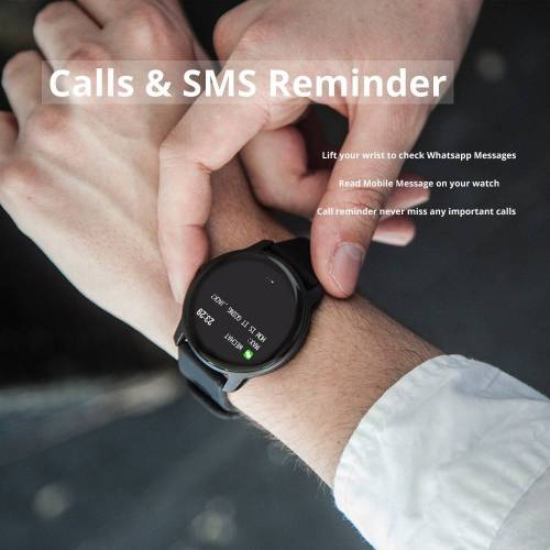 Smart Sport Watch IP68 Waterproof Fitness Tracker Heart Rate Monitor Wrist Watches cb5feb1b7314637725a2e7: Black|Blue|Pink|WHITE