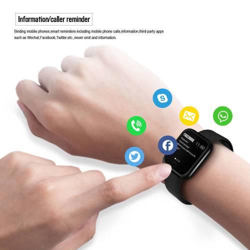 P70 Smart Watch Blood Pressure Heart Rate Monitor IP68 Fitness Bracelet Watch Wrist Watches cb5feb1b7314637725a2e7: Black|Black n Earphone|Pink|Pink n Earphone|Silver|Silver n Earphone