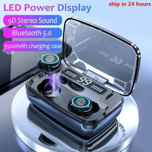 3500mAh LED Bluetooth Wireless Earphones Touch Control Sport Noise Cancellation Earphones & Headphones cb5feb1b7314637725a2e7: M11 Dual ear LED B|S11 Dual Ear B|S11 Dual ear LED B|S11 Dual ear LED W|S11 Dual Ear W|S11 Single Ear B|S11 Single Ear W