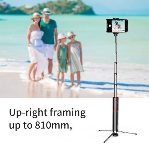Bluetooth Selfie Stick Portable Handheld For Mobile Phones – Tripod with Wireless Remote Selfie Sticks & Tripods cb5feb1b7314637725a2e7: Gold Stripe|Red Stripe|Silver Stripe