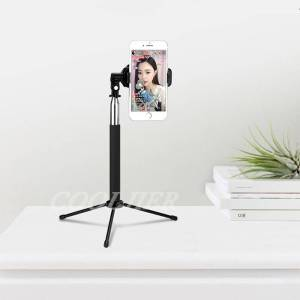 Wireless Remote Bluetooth Selfie Stick with Mini Tripod For iPhone Samsung & Huawei Mobile Phone Accessories Selfie Sticks & Tripods cb5feb1b7314637725a2e7: Black|black with tripod|Pink|pink with tripod