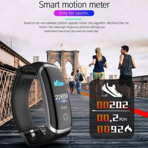 Smart Watch Heart Rate Monitor – Sleep Monitor Fitness Watch plus Blood Pressure Bluetooth Wrist Watches cb5feb1b7314637725a2e7: goldblack|goldblue|goldred|Pink|silverblack|silverblue|silverred