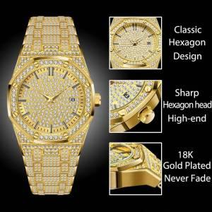 MISSFOX Women Watches Luxury Brand Gold Wrist Watches cb5feb1b7314637725a2e7: V294-G|V294-G-S|V294-S