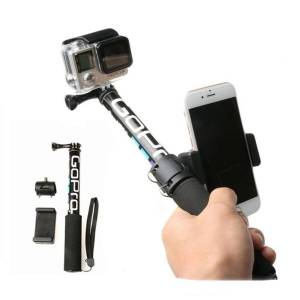 Handheld Monopod Self Selfie Stick for Mobile Phones – Adapter Selfie Sticks & Tripods cb5feb1b7314637725a2e7: Monopod And Holder Only Monopod Only Phone Holder