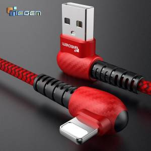 90 degree USB Cable for iPhones – Fast Charging Data Cord USB Phone Cables cb5feb1b7314637725a2e7: For iPhone Black|For iPhone Red|For iPhone White|For Micro Black|For Micro Red|For Micro White|For Type C Black|For Type C Red|For Type C White