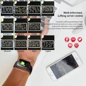 Blood Pressure Heart Rate Monitor Smart Watch IP67 Waterproof Sport Fitness Tracker Wrist Watches cb5feb1b7314637725a2e7: Black|Blue|Brown|Purple|Red