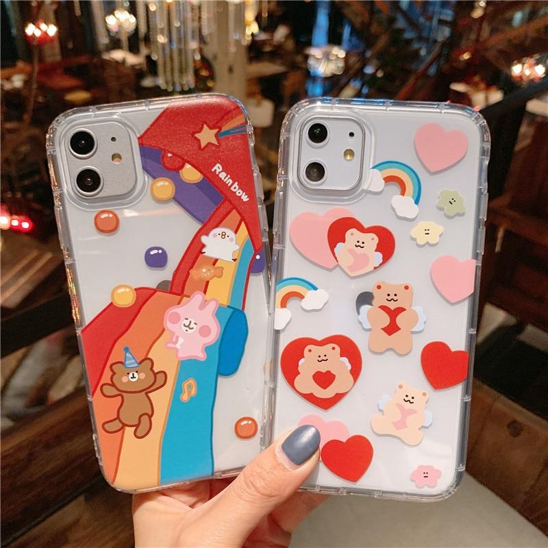 Cartoon Bear Phone Case for iPhone
