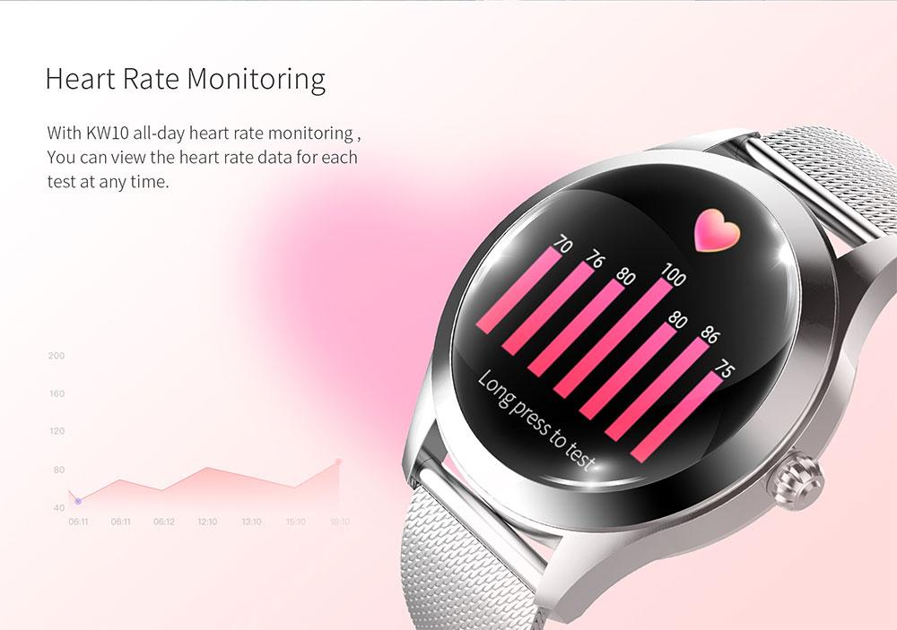 Pink Butterfly Women's Smart Watch