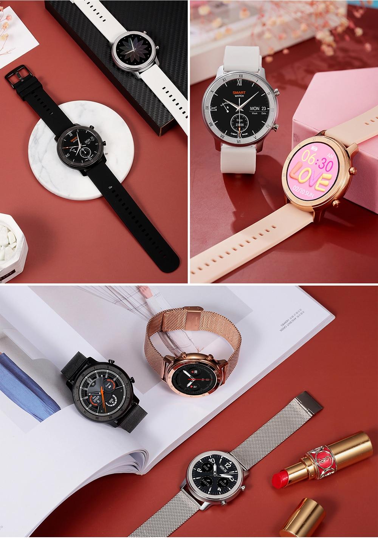 Women's Roman Numerals Patterned Smart Watch