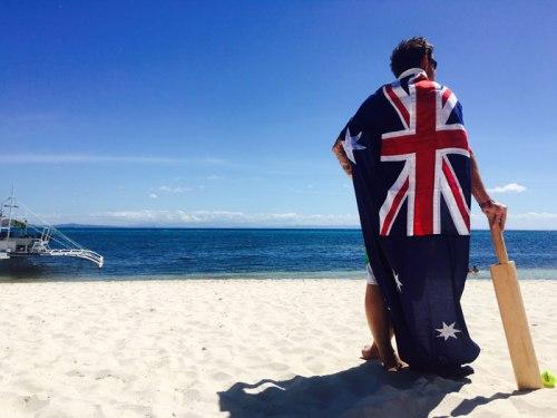australia day in malapascua