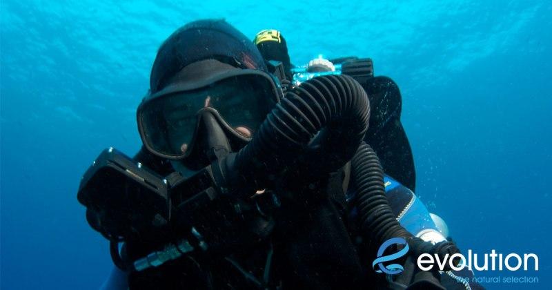 rebreather scuba toys evolution diving resort malapascua
