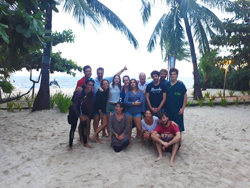 philippines christmas with evolution diving resort