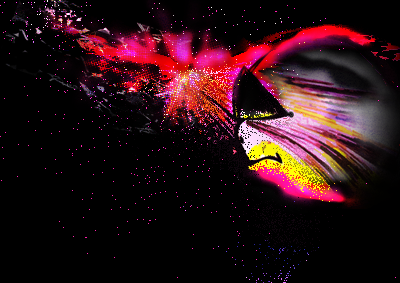 Raging particle
