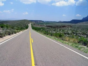 Road in Texas