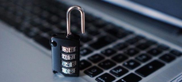 Lock on a keyboard.