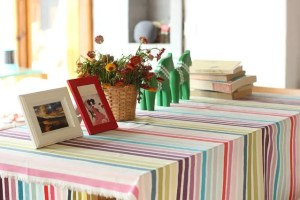Table with frames