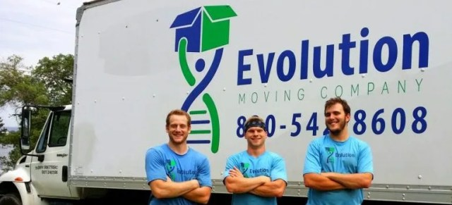 Three movers from Evolution Moving
