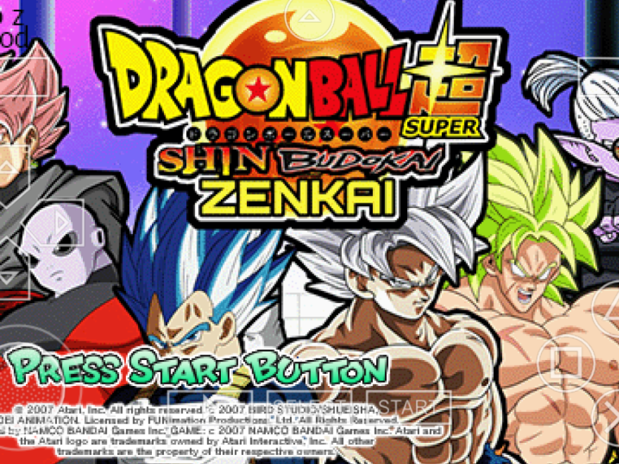 🐈 Dragon ball z shin budokai 2 free download ppsspp