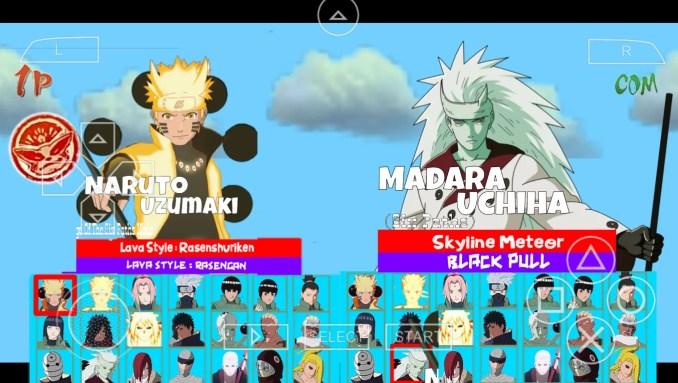 Naruto Ultimate Ninja Storm 4 All Characters