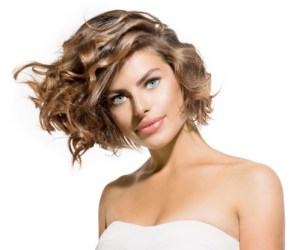 Beachy Waves With Curling Wand How To Style Short Hair