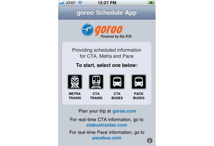 goroo iPhone App Development