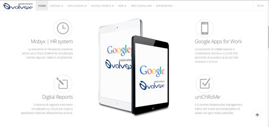 Evolvex - Siti web Vicenza - Partner Google for Work, il sito web di Evolvex