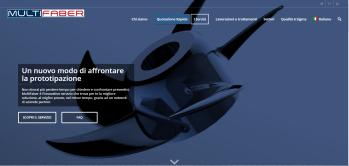 Multifaber - Siti web Vicenza - Servizio di prototipazione rapida online