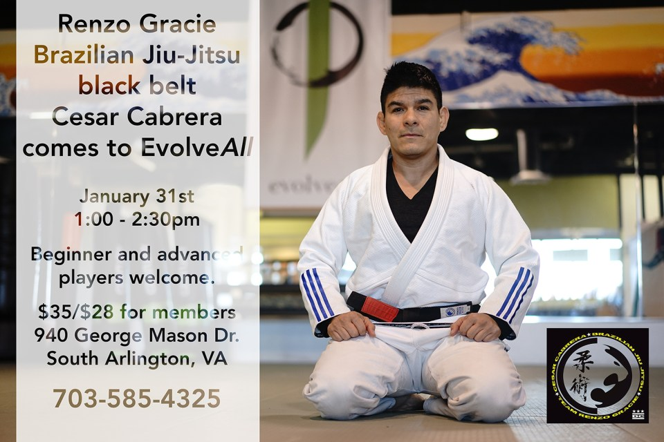 Renzo Gracie Brazilian Jiu-Jitsu black belt comes to EvolveAll