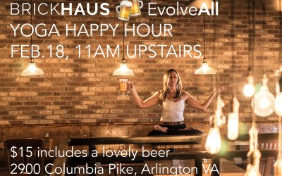 BrickHaus Yoga Happy Hour