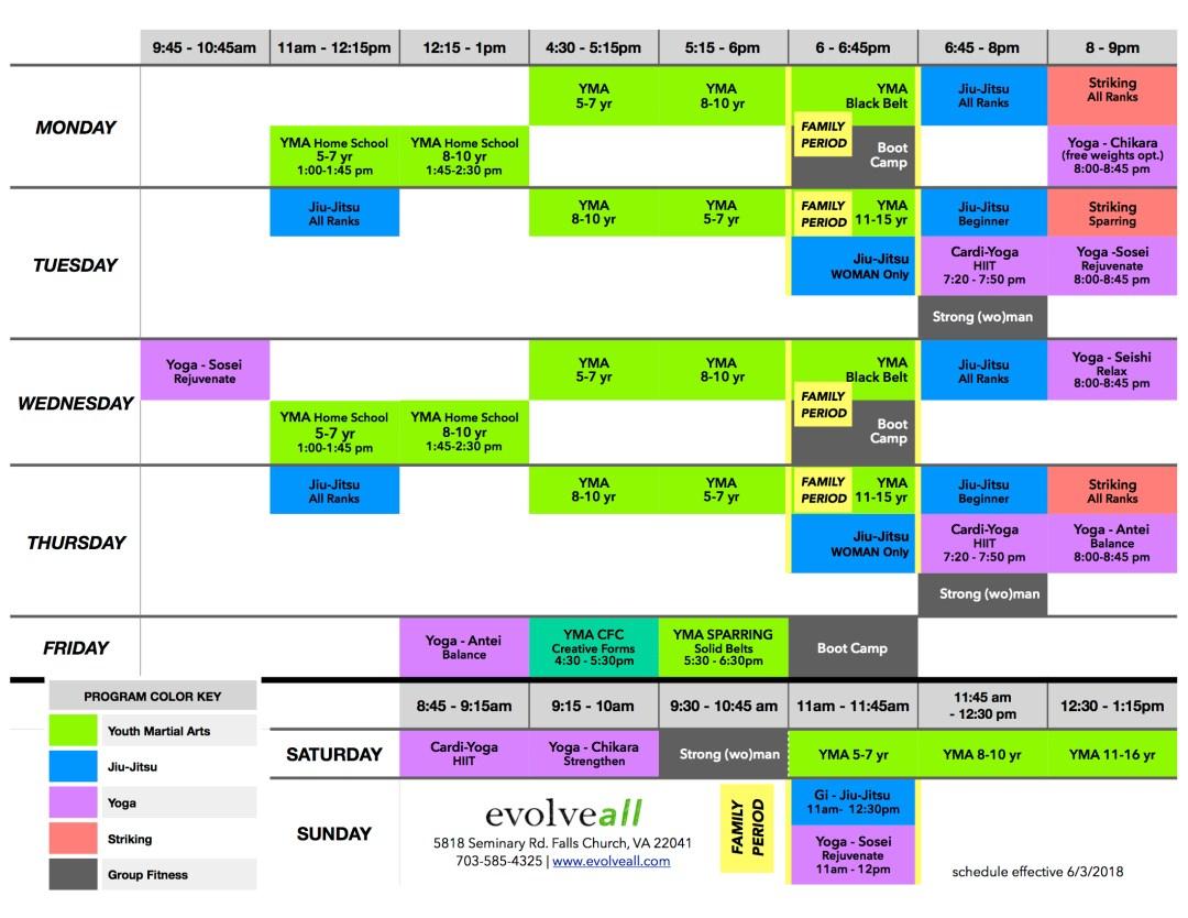 EA Schedule V.7.4 - Lesson Schedule