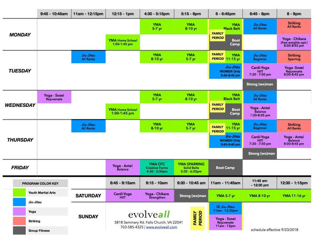 EA Schedule V.7.6 web - Lesson Schedule