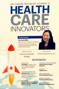 Baltimore business journal health care innovators 199x300 - Evolve's History