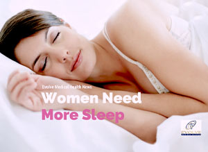 Women Need More Sleep!