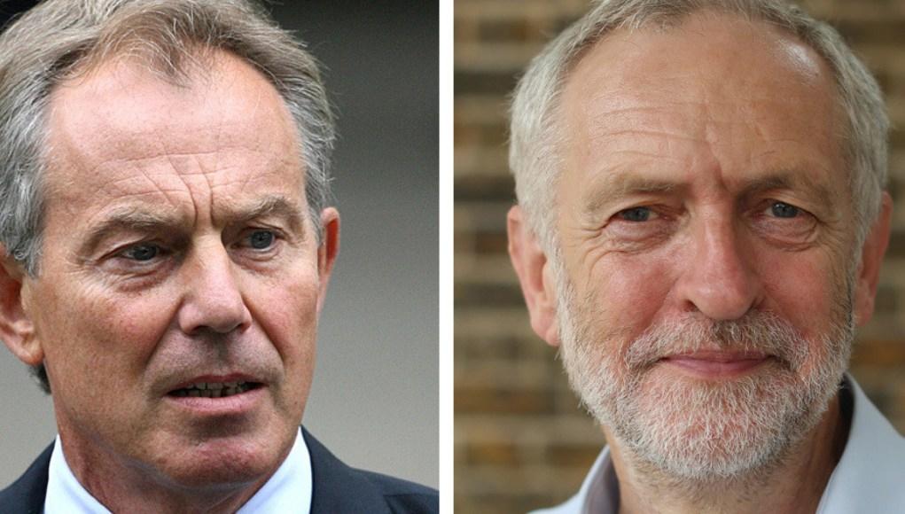 Blair v Corbyn