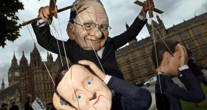 Murdoch Puppets Cameron