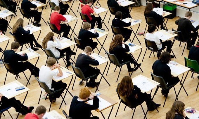 Students cheat in exams using spy pen camera UK