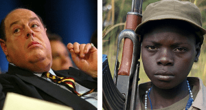 Tory MP's private army hired former child soldiers: 'all we can afford now is Africans'