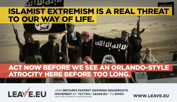 Leave.EU exploits Orlando massacre in horrifying tweet. Quickly deletes it.