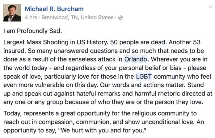 Michael R Burcham