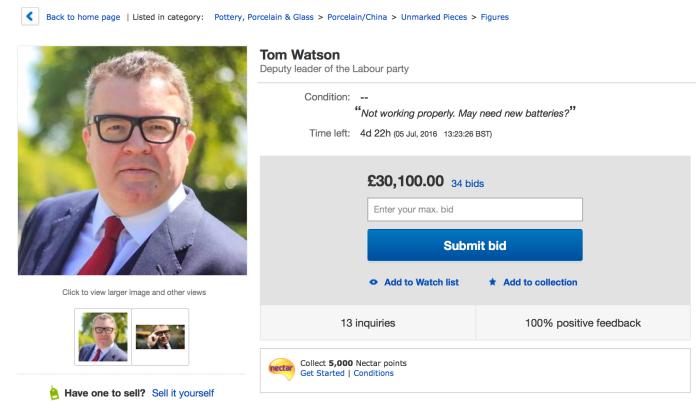 Tom Watson eBay 1