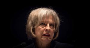 Theresa May Scary