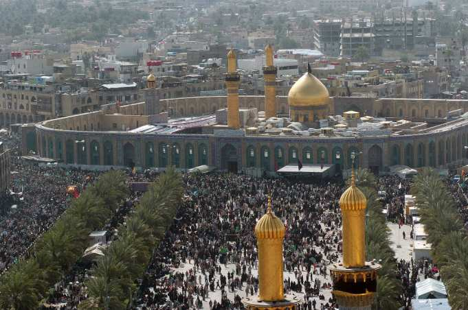 Arbaeen march 20 Million ISIS