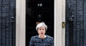 Theresa May Brussels bureaucrats influence election