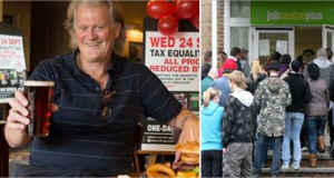Wetherspoon tycoon and Brexit-backer Tim Martin ploughs £13.2m into expanding his business...within the EU