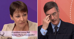 Caroline Lucas just utterly decimated Jacob Rees-Mogg's shamefully hypocritical tuition fee argument [Video]