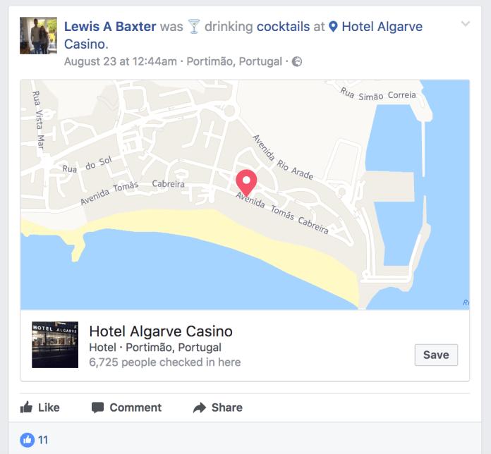 Lewis A Baxter Activate Cocktails Algarve