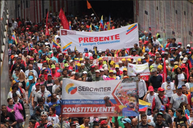 Venezuela Anti-Imperialist March