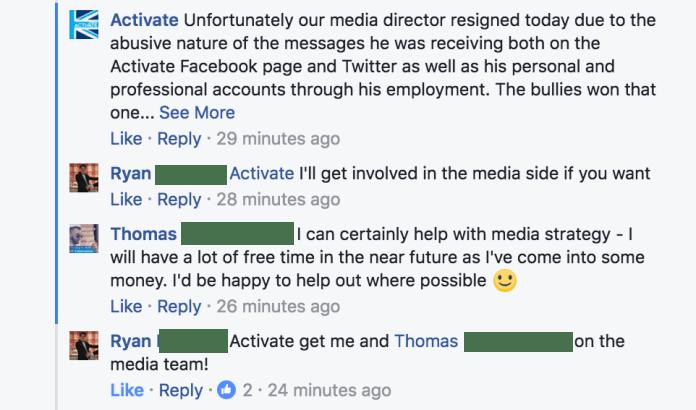 Activate Media Team Thread
