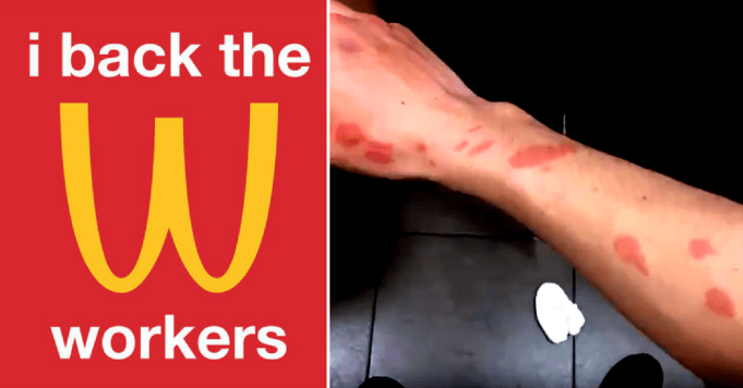 #McStrike: As staff unite against corporate greed, a video has emerged showing just how bad things really are [VIDEO]