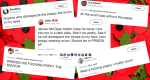 Poppy Scum Traitor